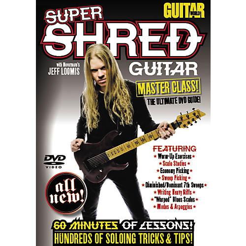 Alfred Guitar World: Super Shred Guitar Masterclass! (DVD)