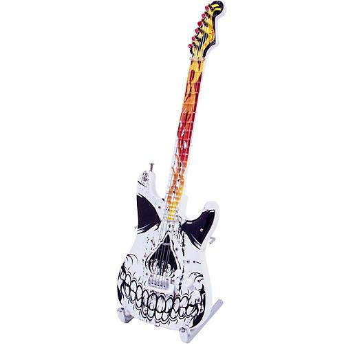 Fender GuitarMania Flaming Skull Figurine
