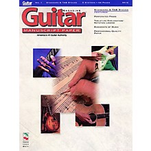 Cherry Lane Guitar(TM) Magazine Manuscript Paper - #1 Standard & Tab Staves - 9 inch. x 12 inch. Guitar Book Series