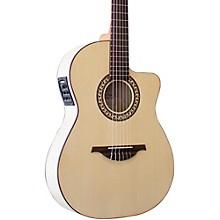 Open BoxManuel Rodriguez Guitarra Mod C11 Classical Acoustic-Electric Guitar