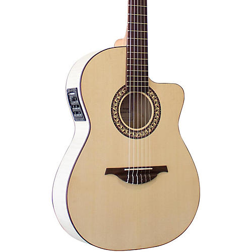 Manuel Rodriguez Guitarra Mod C11 Classical Acoustic-Electric Guitar Natural