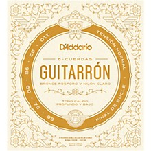 D'Addario Guitarron 6 String Set, Phosphor Bronze, Normal Tension