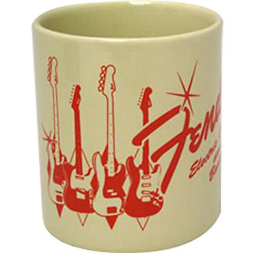 Fender Guitars and Basses Coffee Mug