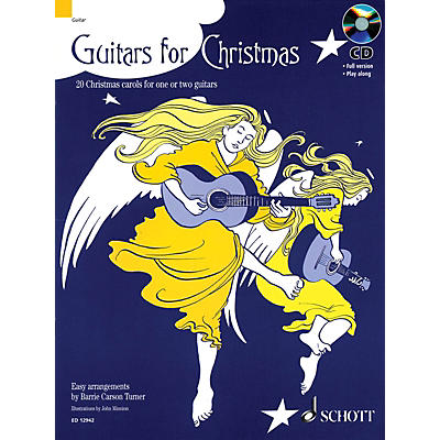 Schott Guitars for Christmas Misc Series Softcover with CD Composed by Various