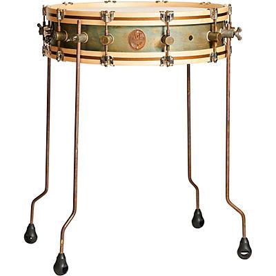 A&F Drum  Co Gun Shot Brass Snare