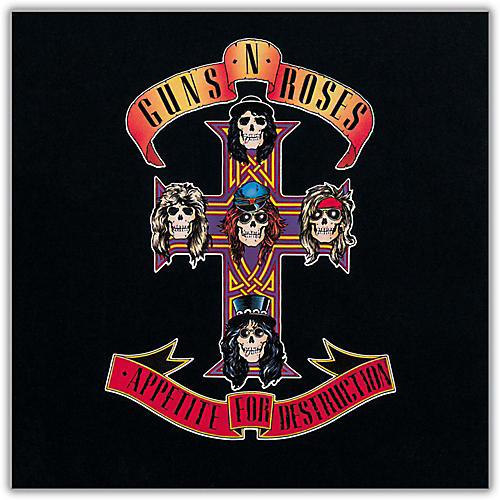 Universal Music Group Guns N' Roses - Appetite for Destruction Vinyl LP