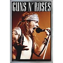 Guns N Roses - Axel Poster Framed Silver