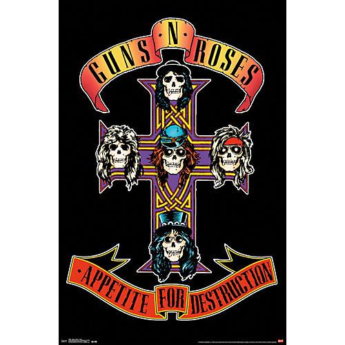 Guns N Roses - Cross Poster