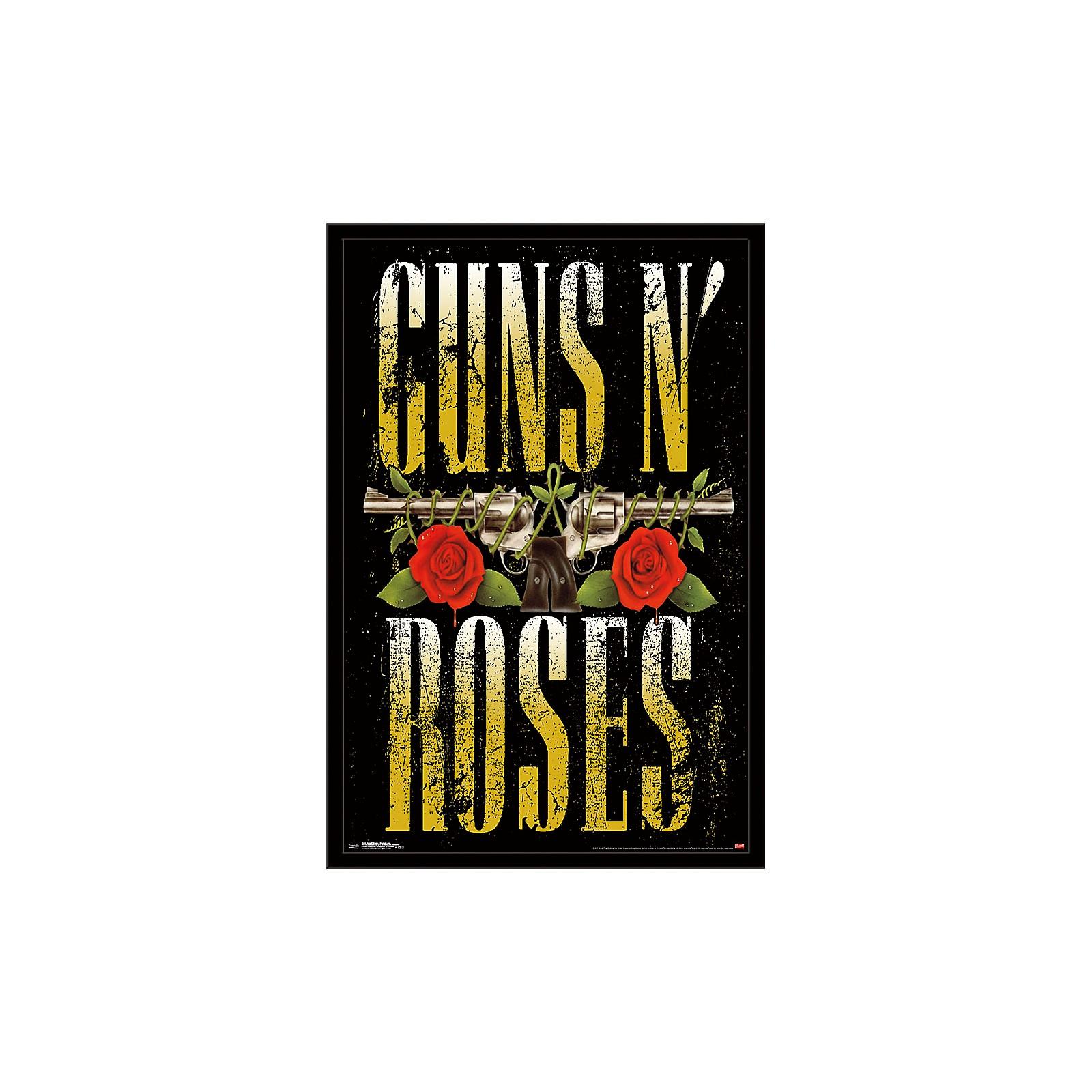 Trends International Guns N Roses - Stacked Logo Poster
