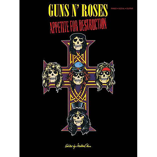 Cherry Lane Guns N Roses  Appetite For Destruction for Piano/Vocal/Guitar