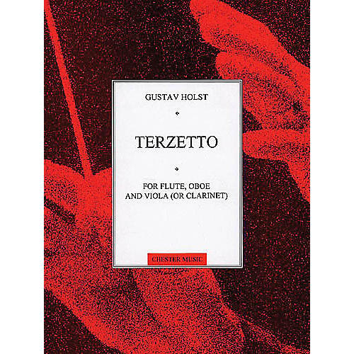 Music Sales Gustav Holst: Terzetto For Flute,Oboe And Viola (Or Clarinet) Music Sales America Series