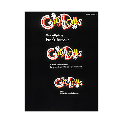 Hal Leonard Guys And Dolls for Easy Piano