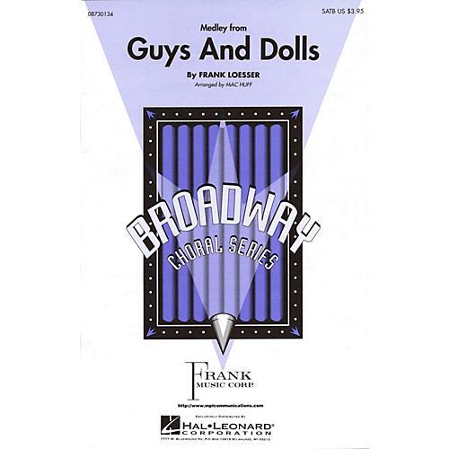 Hal Leonard Guys and Dolls (Medley) SATB arranged by Mac Huff