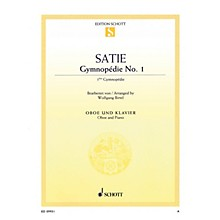 Schott Gymnopédie No 1 (Arranged for Oboe and Piano) Woodwind Series Book