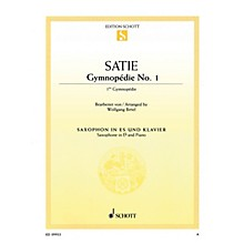 Schott Gymnopédie No. 1 (Arranged for Alto Saxophone and Piano) Woodwind Series Book