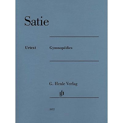 G. Henle Verlag Gymnopedies Henle Music Folios Series Softcover Composed by Erik Satie Edited by Ulrich Kramer