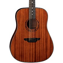 Open Box Luna Guitars Gypsy 12-String Dreadnought Mahogany Acoustic Guitar