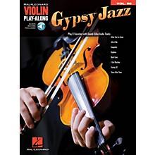 Hal Leonard Gypsy Jazz Violin Play-Along Volume 80 Book/Audio Online