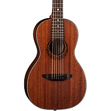 Open Box Luna Guitars Gypsy Parlor Mahogany Acoustic Guitar