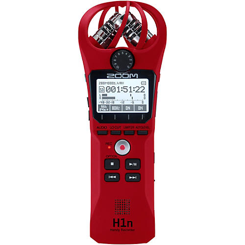 Zoom H1n Handy Recorder Red Edition