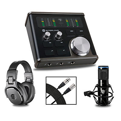 Sterling Audio H224 Recording Bundle