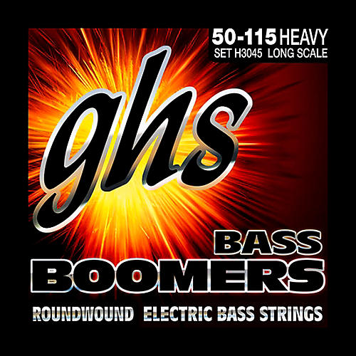 ghs h3045 heavy gauge bass boomers bass strings musician 39 s friend. Black Bedroom Furniture Sets. Home Design Ideas