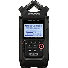 Zoom H4n Pro Handy Audio Recorder, Black