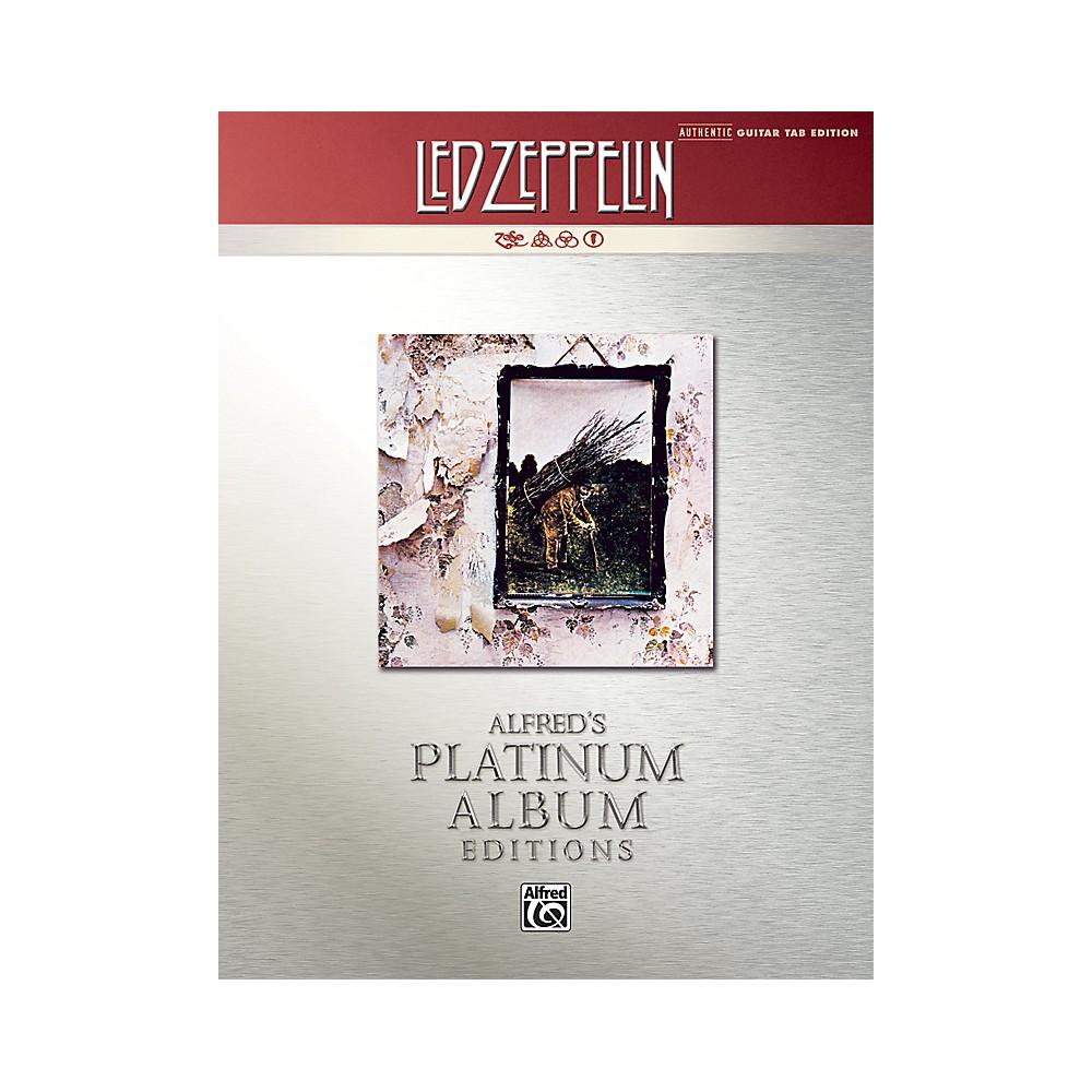 alfred led zeppelin iv guitar tab platinum edition book ebay. Black Bedroom Furniture Sets. Home Design Ideas