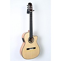 Used Cordoba Fusion 14 Maple Acoustic-Electric Nylon String Classical Guitar Natural 888365837512