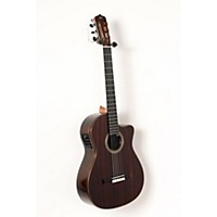 Used Cordoba Fusion 12 Rose Acoustic-Electric Nylon String Classical Guitar Natural 888365916118