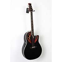 Used Ovation Elite 2078 Ax Deep Contour Acoustic-Electric Guitar Black 888365951072