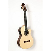 Used Kremona F65cw Fiesta Cutaway Acoustic-Electric Classical Guitar Natural 888365850665
