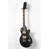 Used Epiphone Les Paul Tribute Plus Electric Guitar Midnight Ebony 190839026941