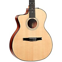 Taylor 200 Series 214Ce-N-L Grand Auditorium Nylon String Left-Handed Acoustic-Electric Guitar Natural