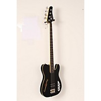 Used Schecter Guitar Research Baron-H Vintage Electric Bass Guitar Black 190839026538