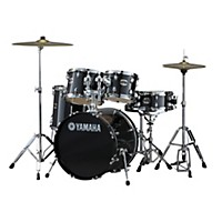 Yamaha Gigmaker 5-Piece Drum Set With 20 Bass Drum Black Glitter