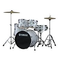 Yamaha Gigmaker 5-Piece Drum Set With 20 Bass Drum Silver Glitter