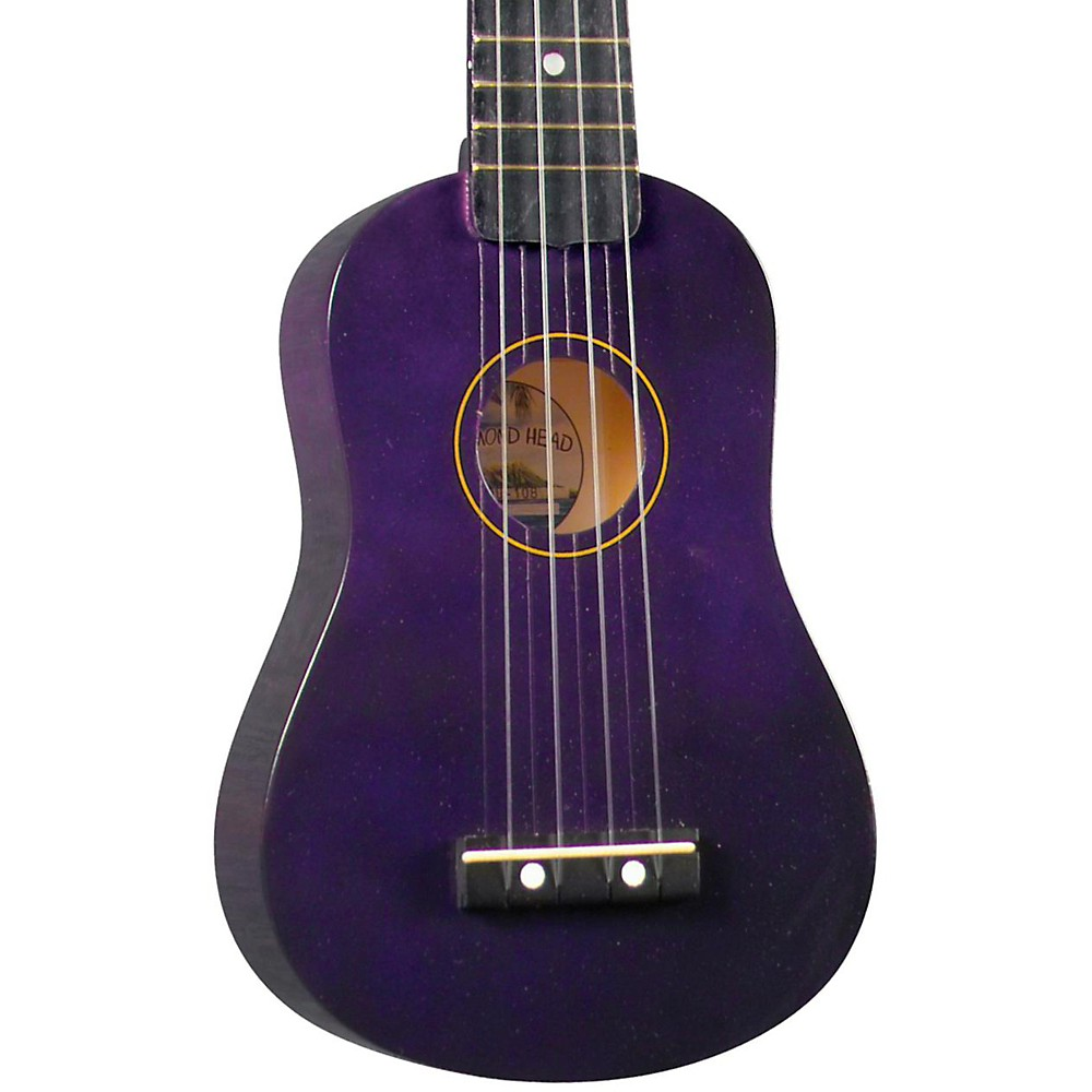 Diamond Head Du-10 Soprano Ukulele Purple Black Fingerboard