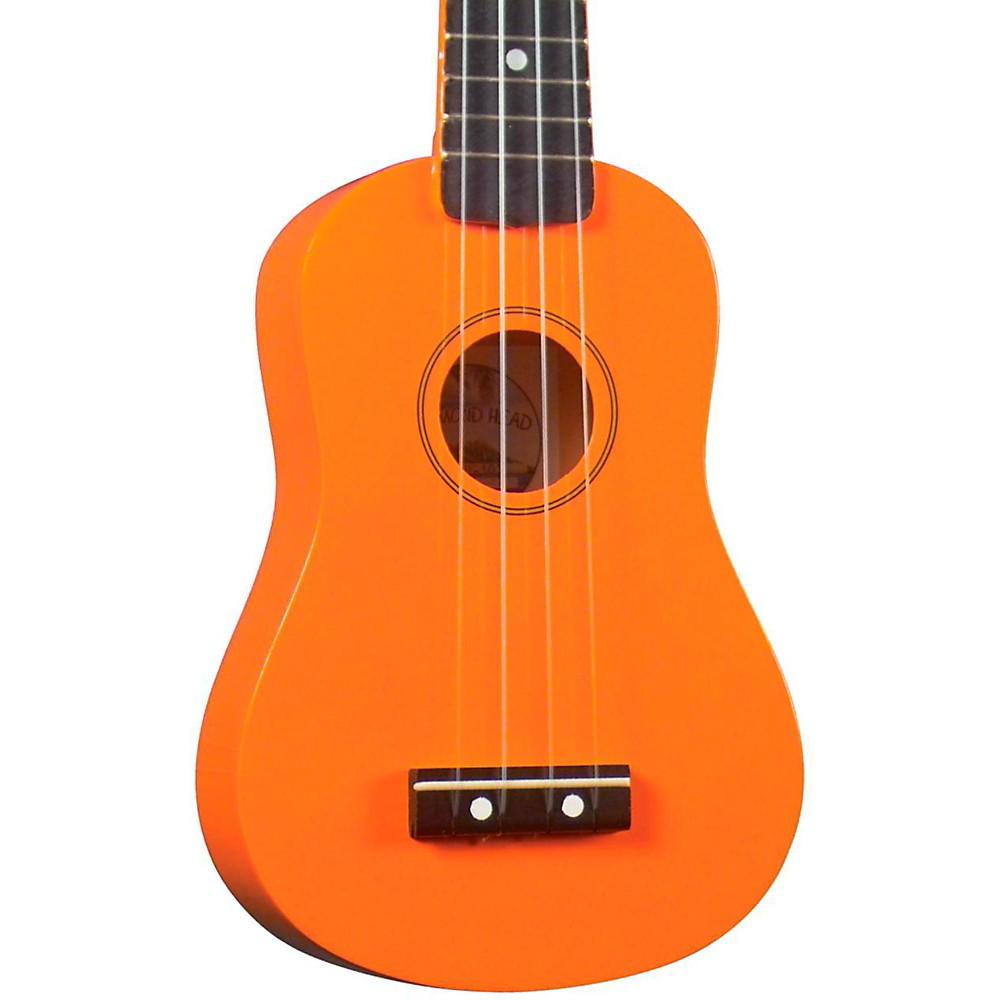 Diamond Head Du-10 Soprano Ukulele Orange Black Fingerboard