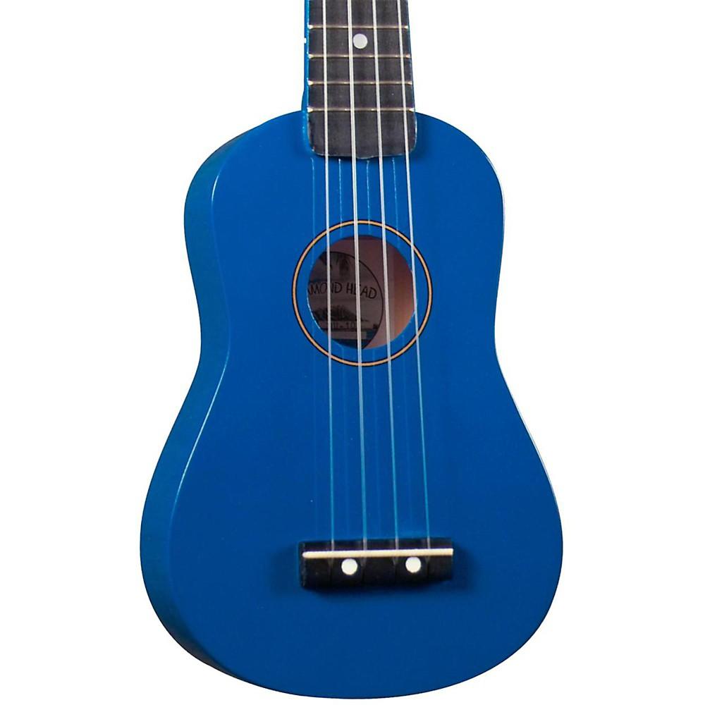 Diamond Head Du-10 Soprano Ukulele Blue Black Fingerboard