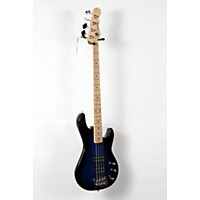 Used G&L Tribute L2000 Electric Bass Guitar Blueburst, Maple Fretboard 888365946313