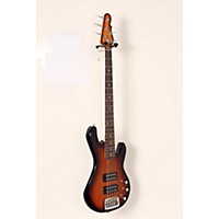 Used G&L Tribute L2500 5-String Electric Bass Guitar Tobacco Sunburst, Rosewood Fretboard 190839002273