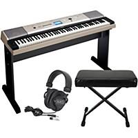Yamaha Ypg-535 88-Key Portable Grand Piano Keyboardwith Bench And Headphones