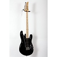 Used Line 6 Variax Jtv-69S Electric Guitar With Single Coil Pickups Black Maple Fingerboard