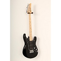 Used Line 6 Variax Jtv-69S Electric Guitar With Single Coil Pickups Black, Maple Fingerboard 888365772561