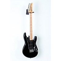 Used Line 6 Variax Jtv-69S Electric Guitar With Single Coil Pickups Black, Maple Fingerboard 888365792347