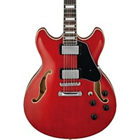 Ibanez Artcore As7312 12-String Semi-Hollow Electric Guitar Transparent Red
