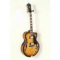 Used Ibanez Artcore Expressionist Afj95 Hollowbody Electric Guitar Flat Antique Fade 190839051097