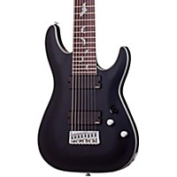 Schecter Guitar Research Damien Platinum 8-String Electric Guitar Satin Black
