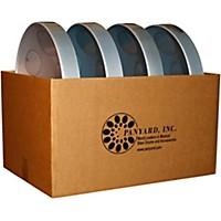 Panyard Jumbie Jam Educator's Steel Drum 4-Pack With Table Top Stands Silver